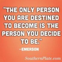 Decide now!